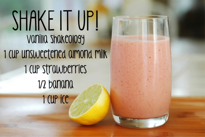 shakeology recipe 1