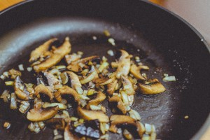 mushrooms-skillet-pan-cooking-kitchen-chef-food